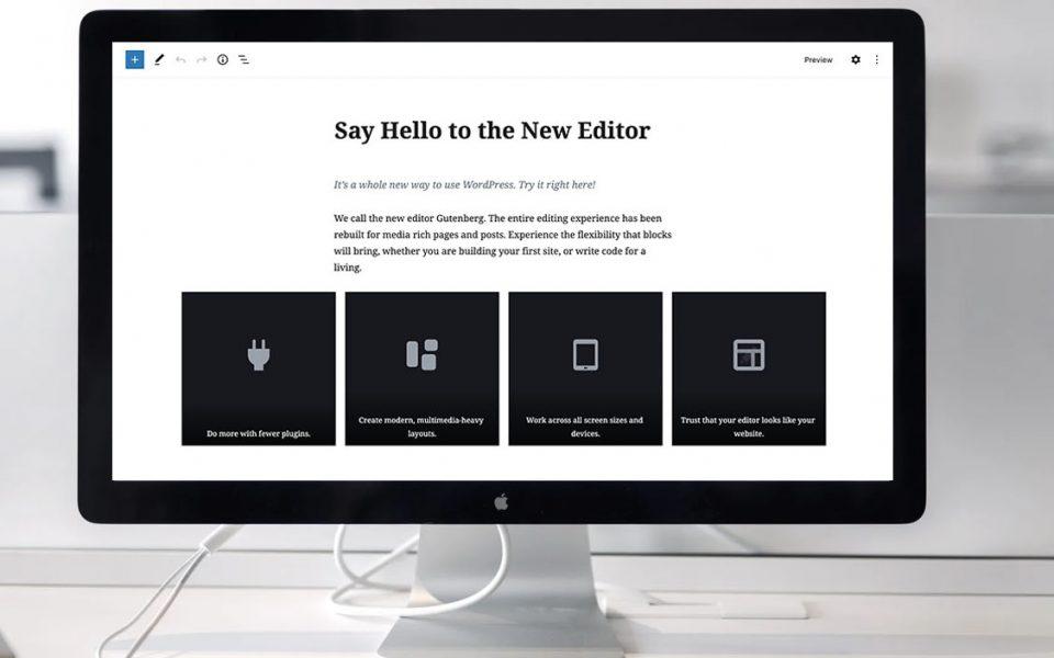 WordPress CMS Gutenberg