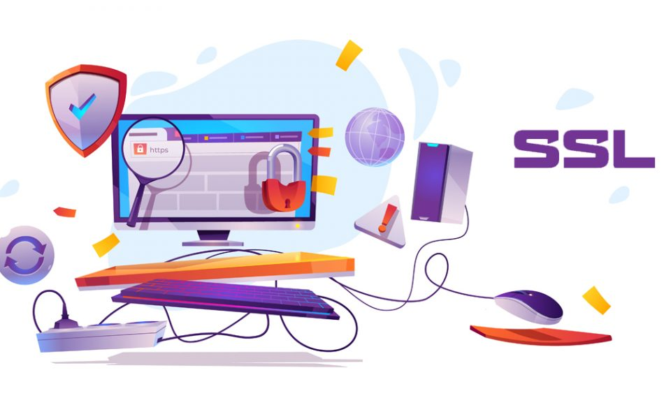 SSL Website Security | SSL Certificate | Image by: freepik.com/upklyak